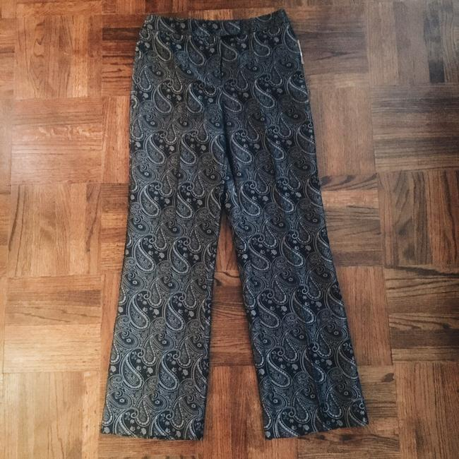 New York & Company Trouser Pants silver black Image 1