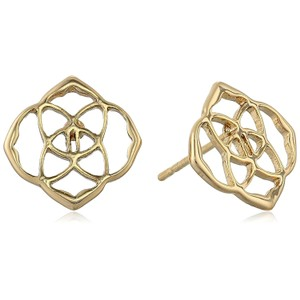 Kendra Scott BRAND NEW Kendra Scott Dira Logo Stud Earrings GOLD