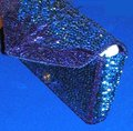 PurseN Evening After Five Party Formal Special Occasion Blue Clutch Image 1