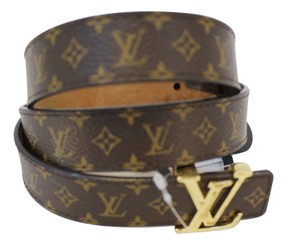 Louis Vuitton LOUIS VUITTON Monogram LV Initials Belt 90/36