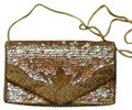 PurseN Evening After Five Party Formal Special Occasion Gold Clutch Image 0