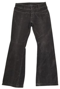 American Eagle Outfitters Boot Cut Pants gray