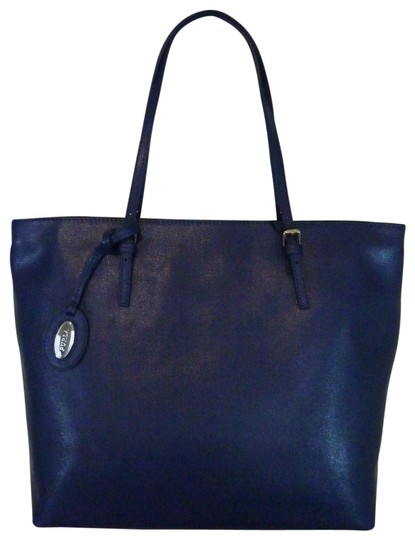 Preload https://img-static.tradesy.com/item/22935109/furla-ink-blue-d-light-navy-saffiano-leather-tote-0-1-540-540.jpg
