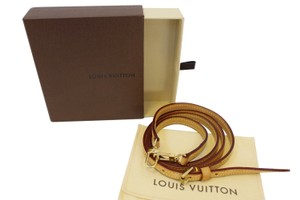 Louis Vuitton LOUIS VUITTON Leather Shoulder Strap Beige For Eva and Similar