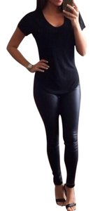 The Envy Collection Matte Black Leggings