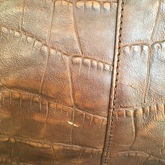 Kenneth Cole Leather Multi-compartments Satchel in Brown Image 2