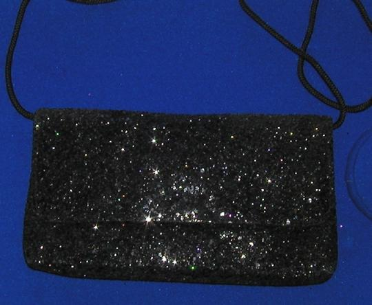 PurseN Evening After Five Party Formal Special Occasion Black Clutch Image 2