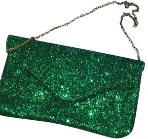 PurseN Evening After Five Party Formal Special Occasion Green Clutch