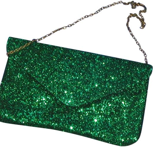 PurseN Evening After Five Party Formal Special Occasion Green Clutch Image 0