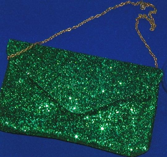 PurseN Evening After Five Party Formal Special Occasion Green Clutch Image 2