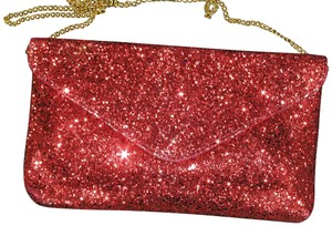 PurseN Evening After Five Party Formal Special Occasion Red Clutch
