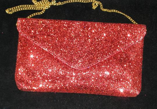 PurseN Evening After Five Party Formal Special Occasion Red Clutch Image 2