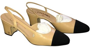 d34abb4833 Women's Beige Chanel Shoes - Up to 90% off at Tradesy