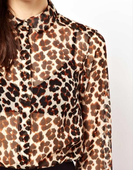 French Connection Top Leopard print