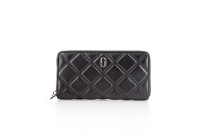Marc Jacobs Marc Jacobs Long Quilted Wallet Black