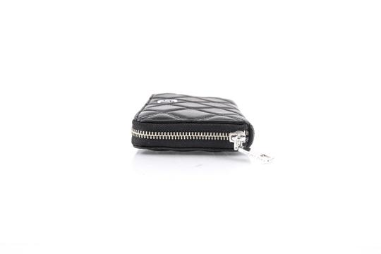 Marc Jacobs Marc Jacobs Long Quilted Wallet Black Image 2