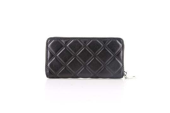 Marc Jacobs Marc Jacobs Long Quilted Wallet Black Image 3