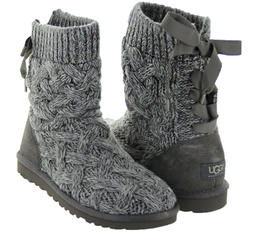 f4fe29c63cc UGG Australia Gray Isla Sweater and Suede Boots/Booties Size US 8 Regular  (M, B) 11% off retail