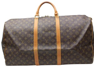 Louis Vuitton Large Xl Keepall 65 Keepall 55 Duffle Brown Travel Bag