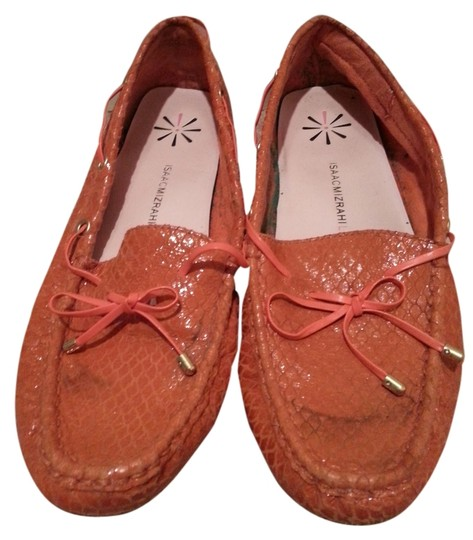 Isaac Mizrahi Live! Orange Flats
