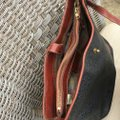 Mulberry Leather 3 Compartments Cross Body Bag Image 9