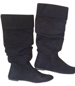 Other Suede Suede Suede Black Boots