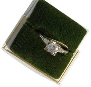 Unknown 14K White Gold Engagement Ring