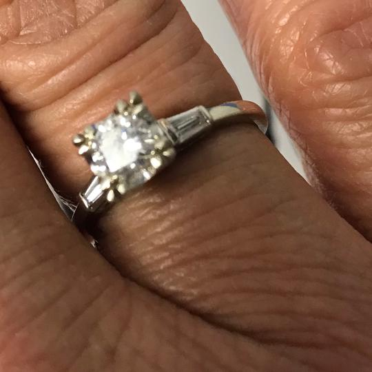 Unknown 14K White Gold Engagement Ring Image 4