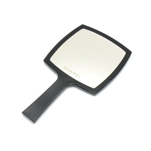 Chanel Chanel Black Large Hand Mirror