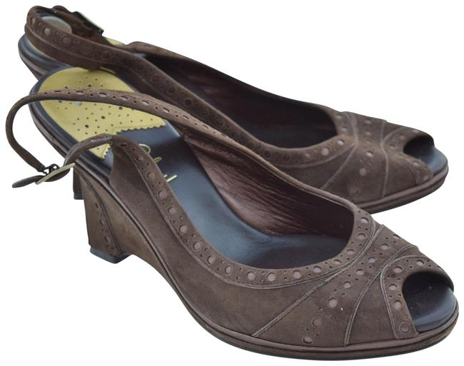 Item - Brown Collection Wedges Size US 9 Regular (M, B)