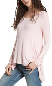 Free People Longsleeve Asymmetrical Rounded Collar Tunic