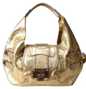 3044742a1cf Jimmy Choo Gold Bags - Up to 70% off at Tradesy