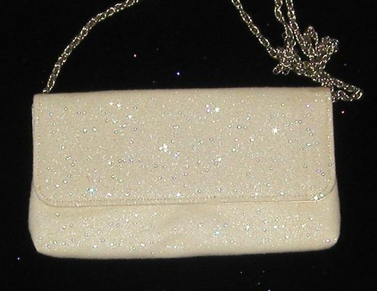 PurseN Evening After Five Party Formal Special Occasion White Clutch Image 1