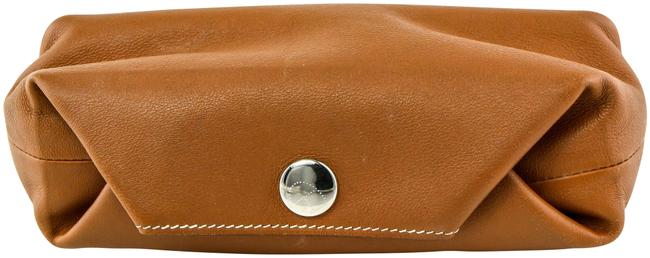 Item - * Brown Leather Case Pouch