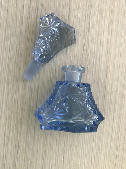 Other Czeck glass perfume bottle Image 7