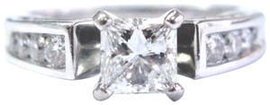 Robin Brothers Robin Brothers Princess & Round Cut Diamond White Gold Engagement Ring