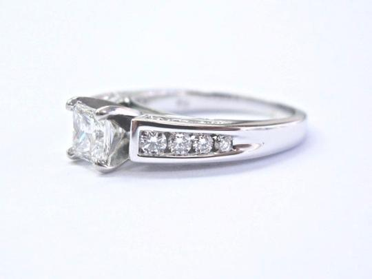 Robin Brothers Robin Brothers Princess & Round Cut Diamond White Gold Engagement Ring Image 1
