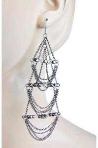 BCBGeneration tone big chandelier chain beaded
