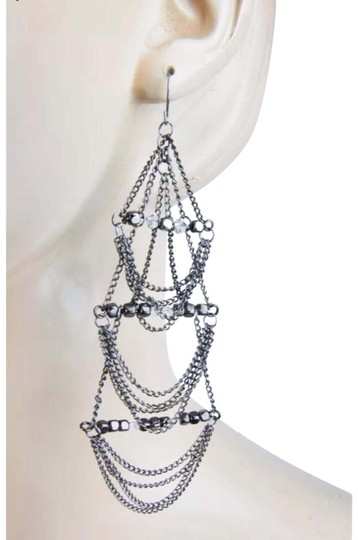 BCBGeneration tone big chandelier chain beaded Image 0