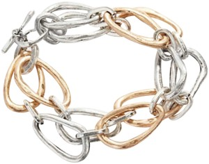 J. Jill j.jill hammered mixed metal bracelet