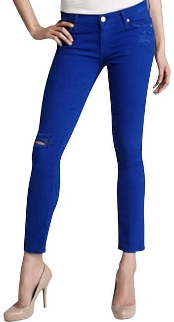 Preload https://img-static.tradesy.com/item/22937089/7-for-all-mankind-electric-blue-the-slim-cigarette-in-destroyed-in-skinny-jeans-size-25-2-xs-0-1-650-650.jpg