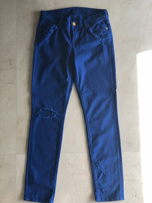 7 For All Mankind Skinny Jeans Image 4