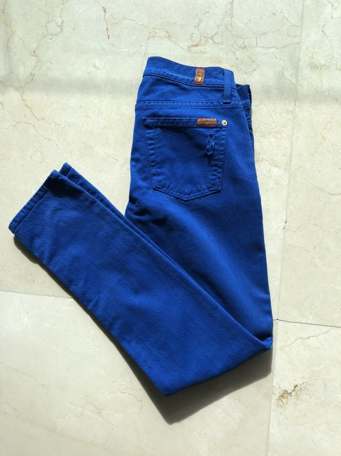 7 For All Mankind Skinny Jeans Image 5