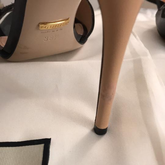 Gucci Black patent leather and Beije leather Formal Image 7