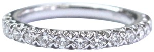 Blue Nile Blue Nile 18Kt Round Cut Diamond White Gold Stackable Band Ring .50Ct