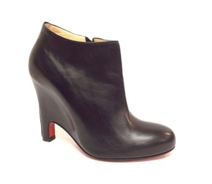 Christian Louboutin Red Sole Red Soles Black Boots
