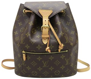 Louis Vuitton Lv Montsouris Canvas Backpack