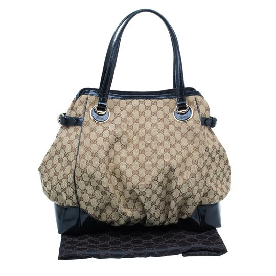 Gucci Full Moon Gg Canvas Tote in beige Image 11