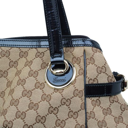 Gucci Full Moon Gg Canvas Tote in beige Image 4