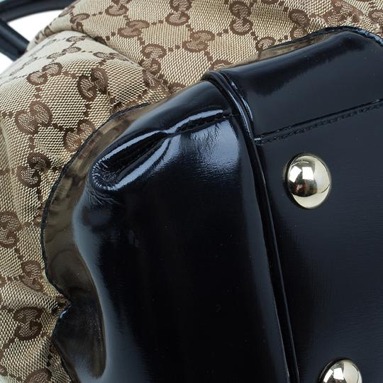 Gucci Full Moon Gg Canvas Tote in beige Image 7